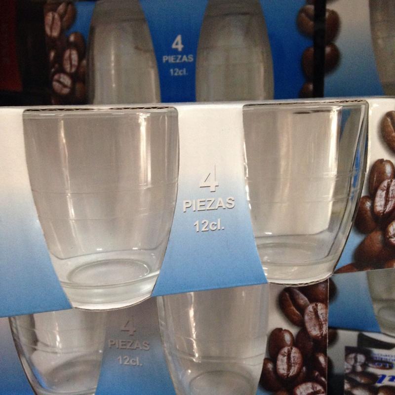 Vaso café carajillo: Productos y servicios de Comercial Cash Logon