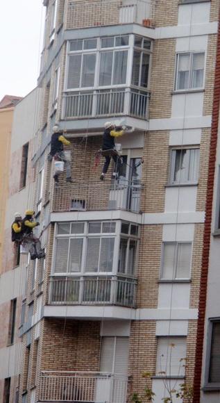 Trabajos en altura en Zamora