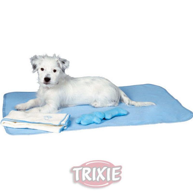 Set para cachorros toalla manta y juguetes mascotas en Madrid