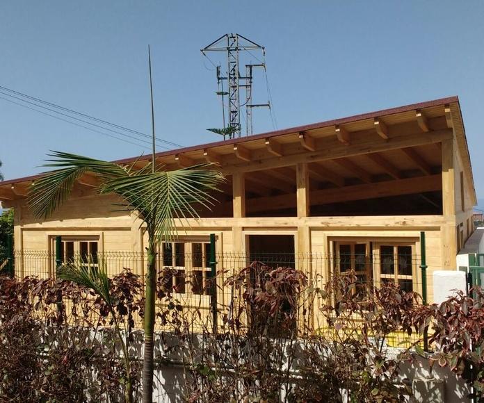 Oficinas Madera Colegio Británico La Orotava