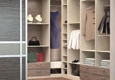 interiores de armarios y vestidores
