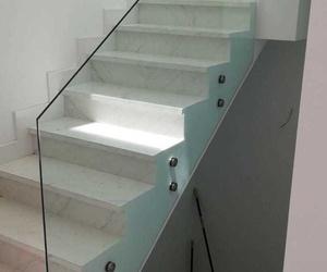 Barandilla de cristal templado