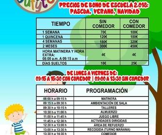 Parque infantil: Servicios y Actividades de Bufytos