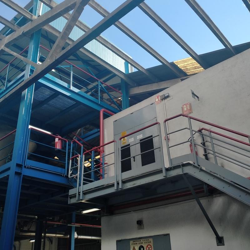 Realización de Estructura Metálica en Fábrica Clariant: Trabajos realizados de Global Metall Taller, SL