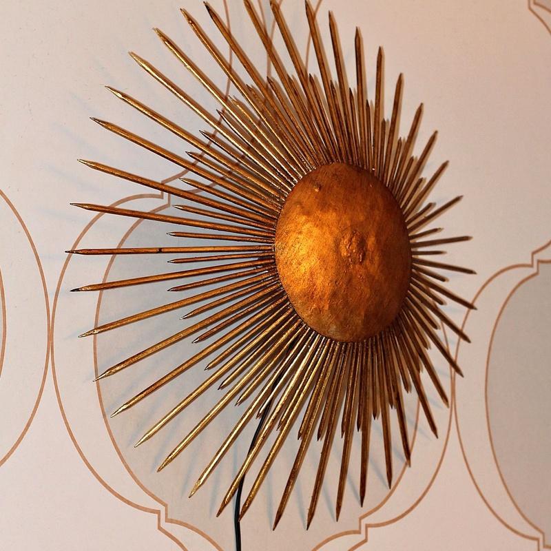 Sol de forja retroiluminado  REF: LAM398:  de Ruzafa Vintage