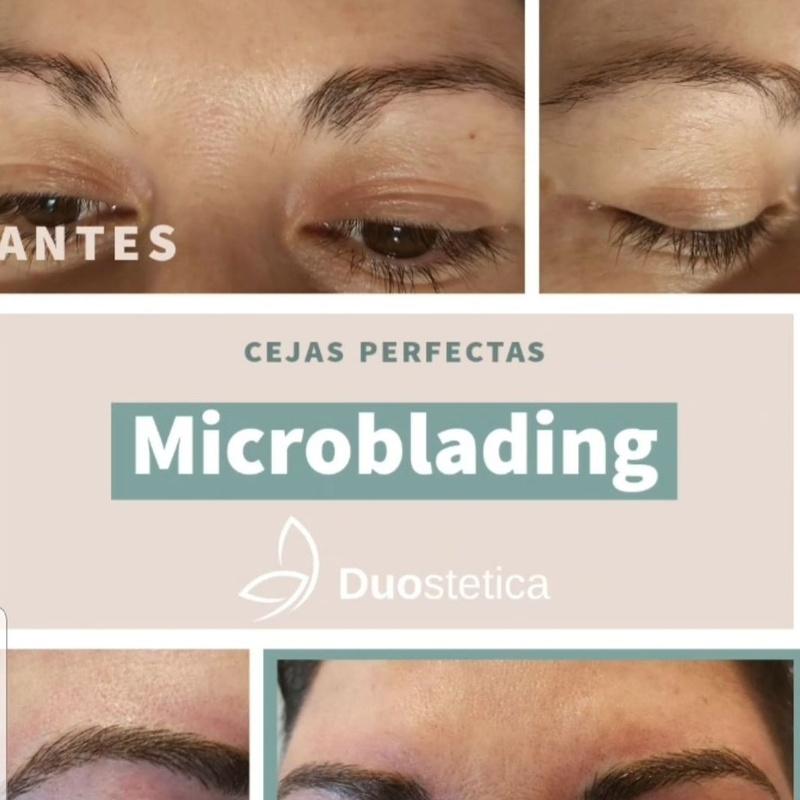 Micropigmentacion y microblanding en cejas.: Servicios de Duoestetica