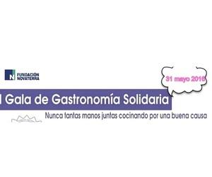 UNIPRO participó en la I gala gastronomía solidaria Novaterra