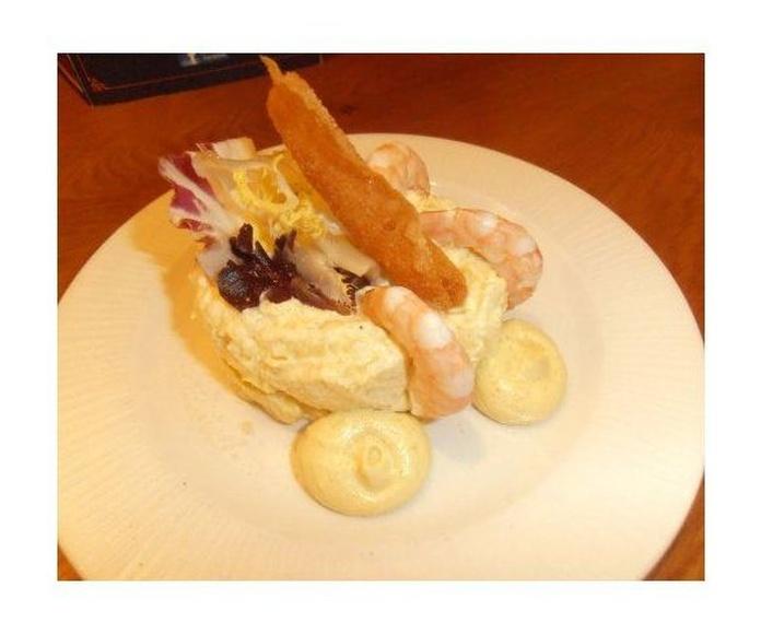 Ensaladilla de gambas: Nuestros platos de La Tapería de Columela