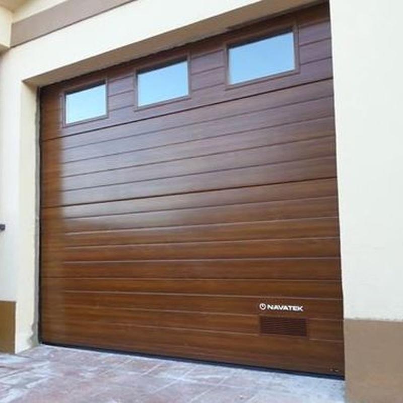 instaladores de puertas de garaje navarra