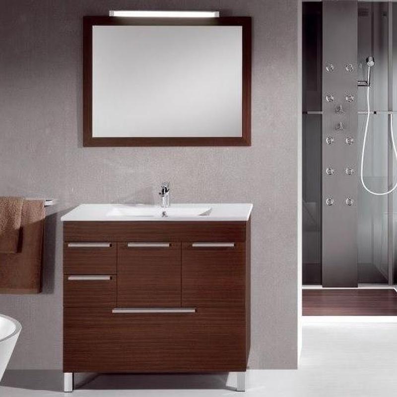 Mueble de baño Vidrebany colección Top modelo Top