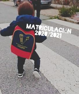 covid-19 Abierta matricula 2020-2021
