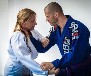 Jiu-jitsu para la defensa personal