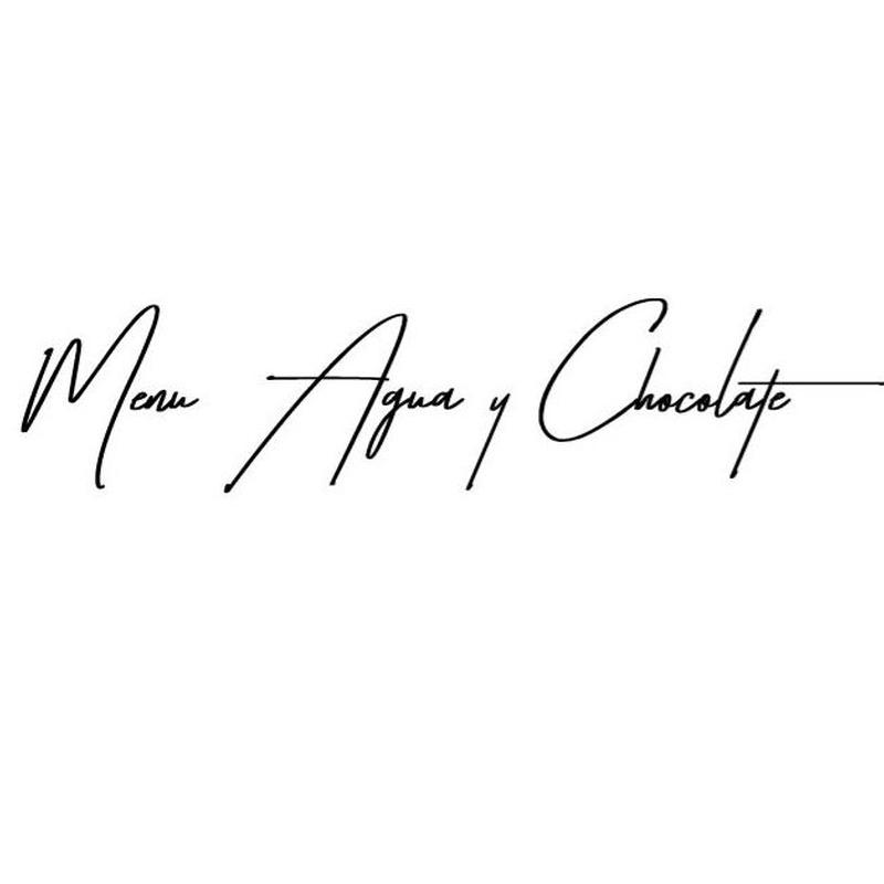 Menú Agua y Chocolate: Carta de Restaurante La Marquesita