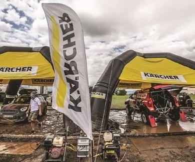 Kärcher vuelve a demostrar su poder de limpieza en el Rally Dakar
