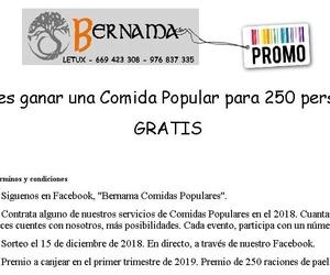 Comidas populares en Zaragoza | Eventos Bernama