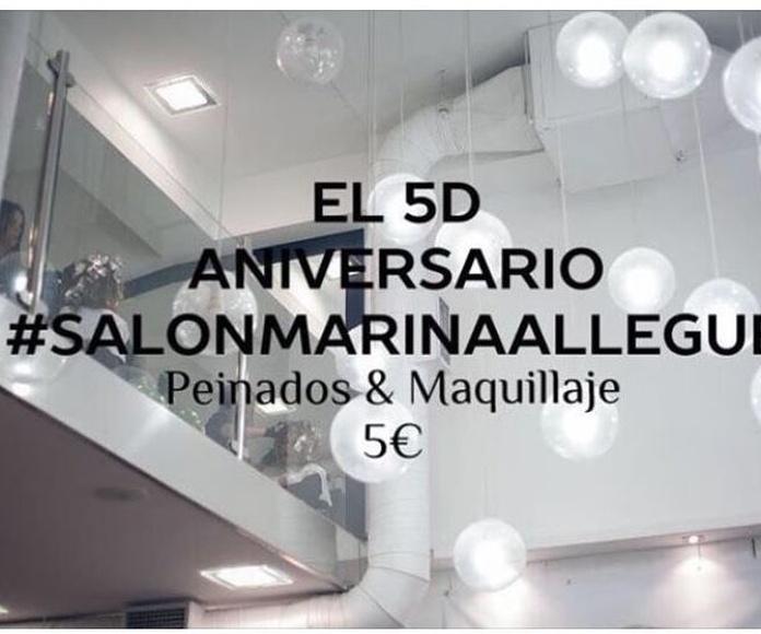 Martes Solidario 18 Aniversario Salón Marina Allegue