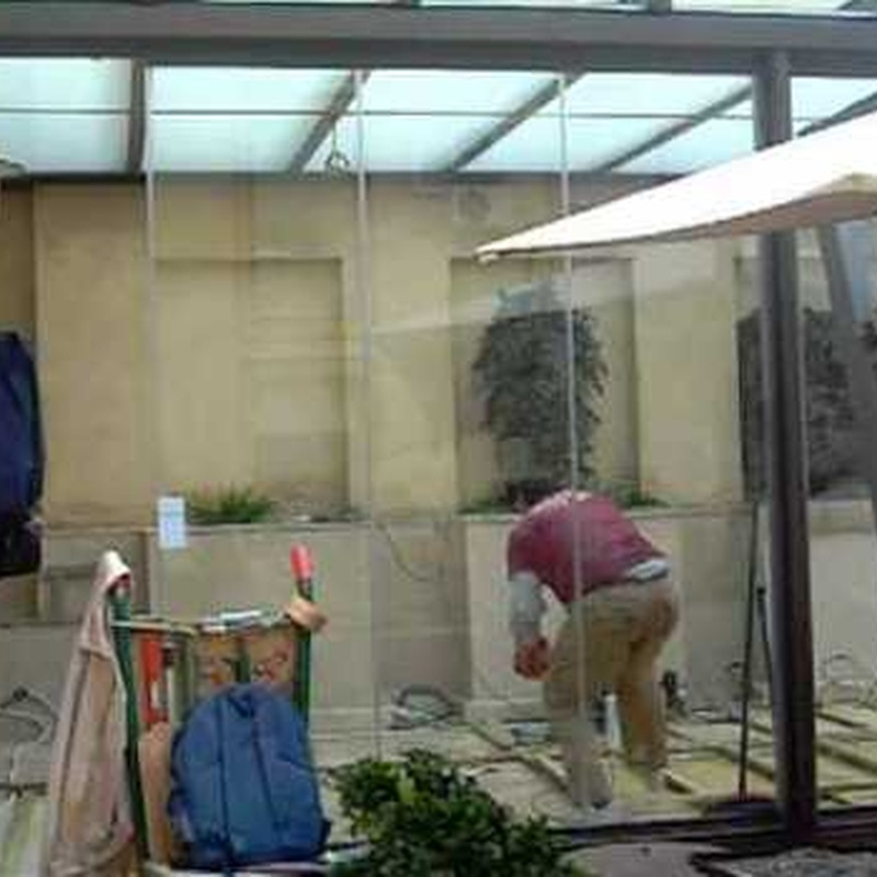 Cerramiento de terrazas: Productos de Cristalería Felipe II