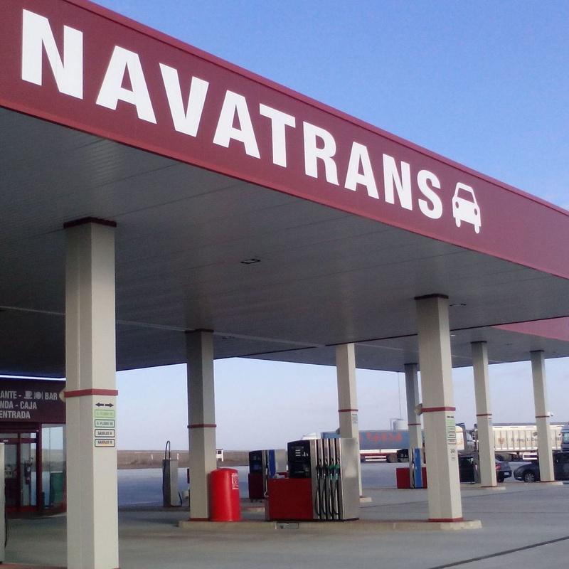 Estación de servicio: Servicios de Área de servicio Navatrans