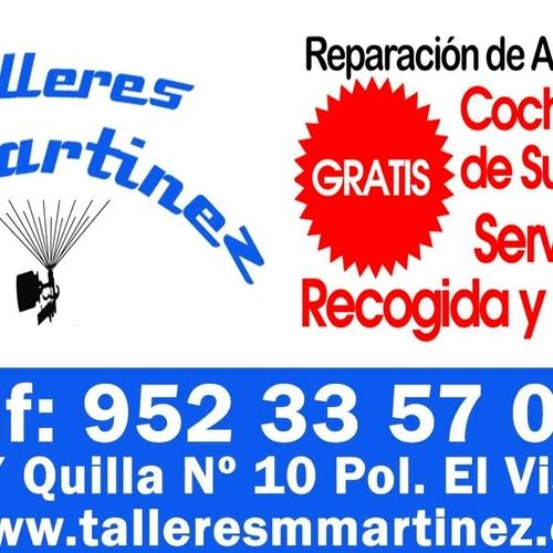 Taller de chapa y pintura en Málaga | Talleres M. Martínez