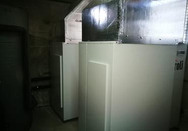 Obras realizadas de climatización