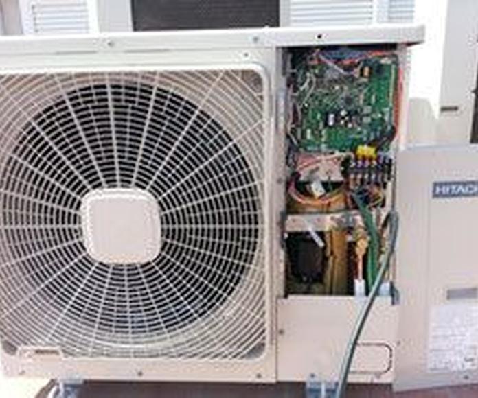 Reparación y mantenimiento  de aire: Servicios de Bio-Klima