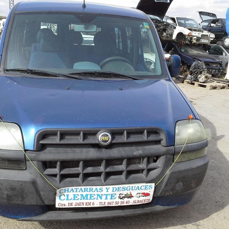 Fiat Doblo 2004 para desguaces Albacete en Desguaces Clemente