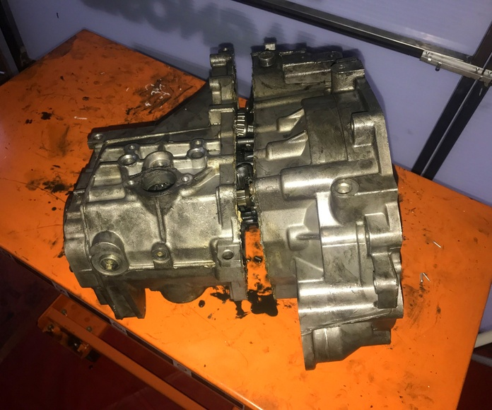 Reparación caja cambios VW CADY