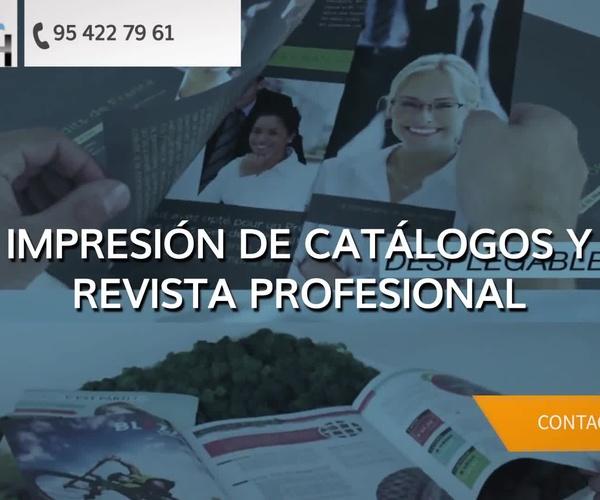 Impresión de flyers en Sevilla | Servicios Gráficos A.Herrera