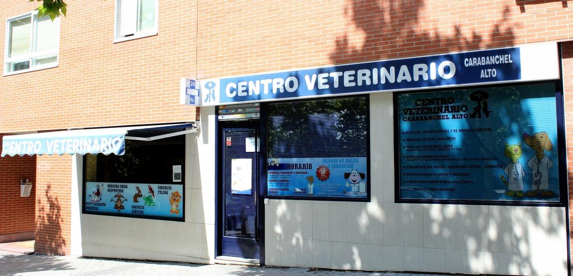 Clínica de urgencias con tienda y peluquería en Leganés