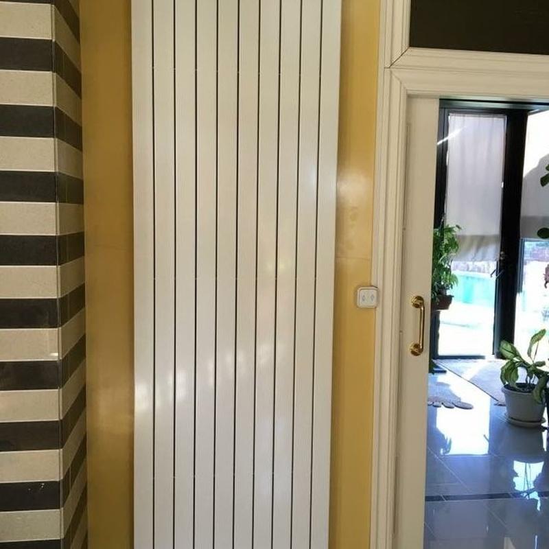 Calefacción y climatización: Servicios de Instalaciones GPO
