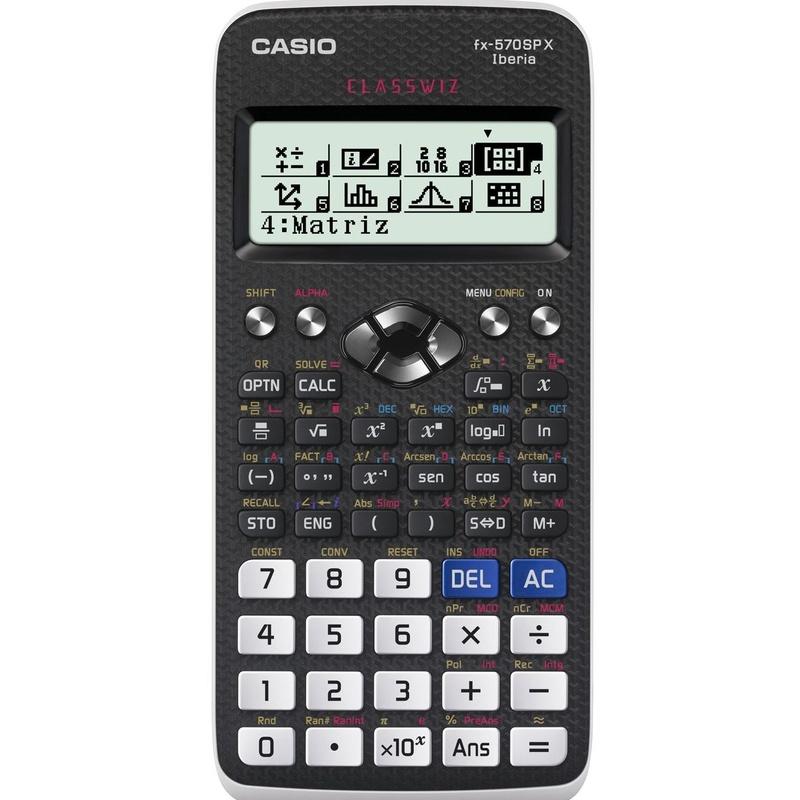 CASIO FX-570SPX: Productos y Servicios de Rosan