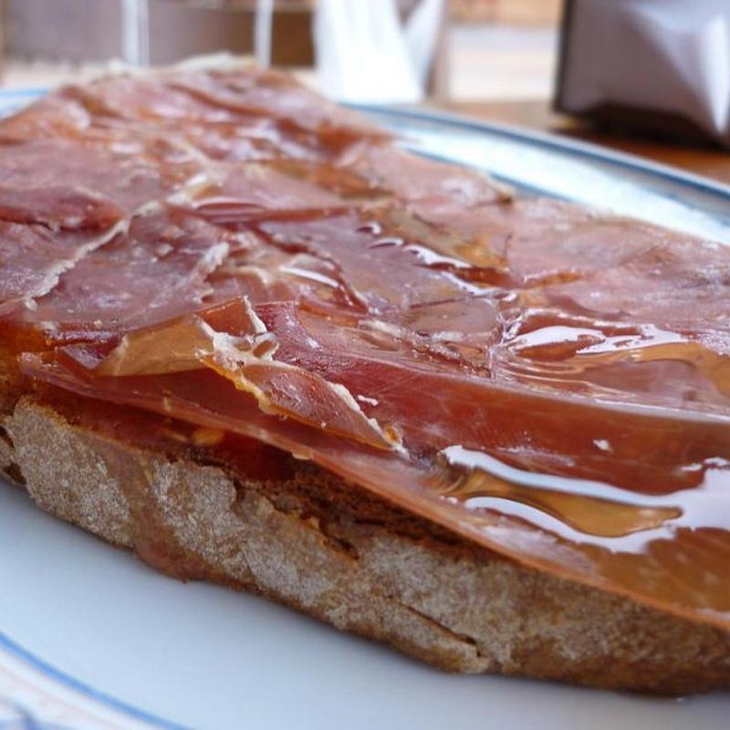 Nuestras tostadas: Nuestros platos de Cafetería Restaurante La Victoria