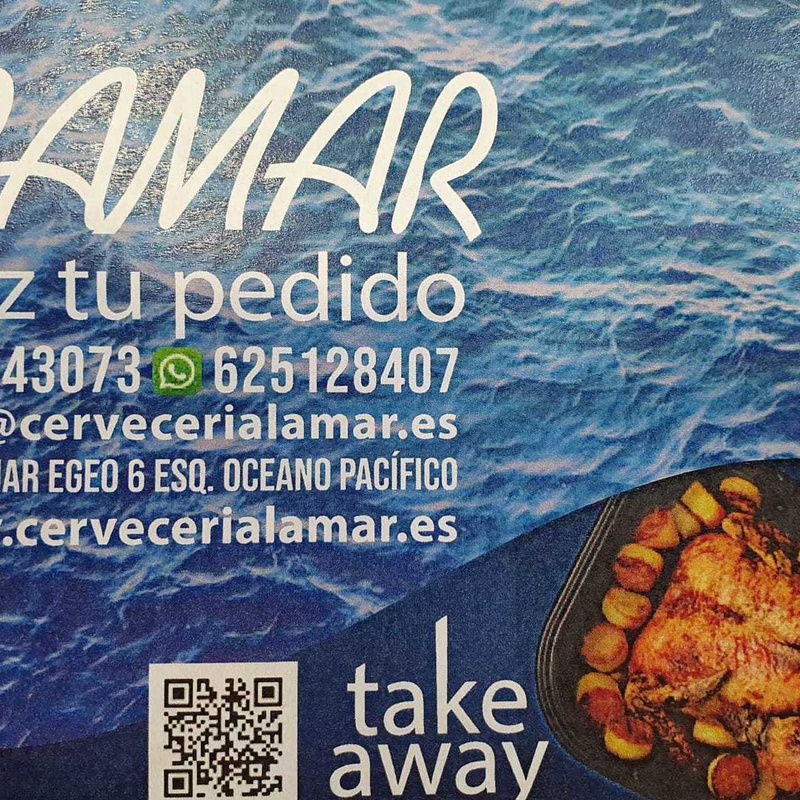 Take away - Delivery : Carta de Cervecería Lamar