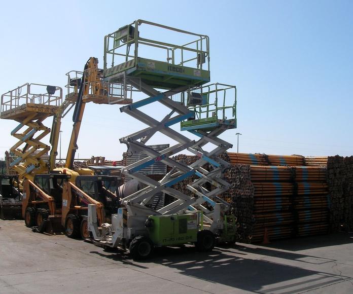 Plataformas elevadoras tijeras: PRODUCTOS PARA ALQUILAR de Ferretería Acentejo, S.L.
