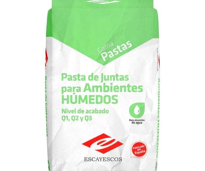 Pasta de juntas para ambientes húmedos: Catálogo of Materiales de Construcción J. B.