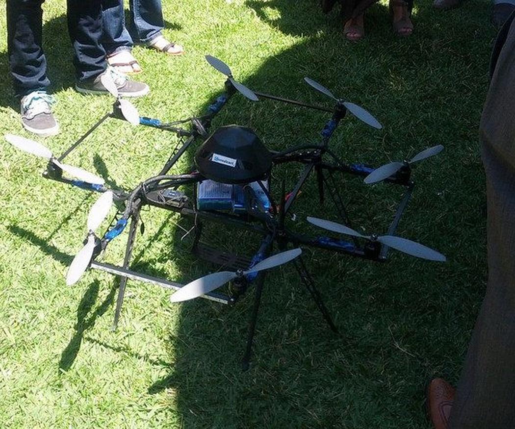 Los drones en la georreferencia