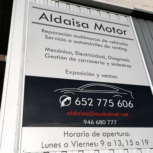 Aldaisa Motor en Getxo Bizkaia