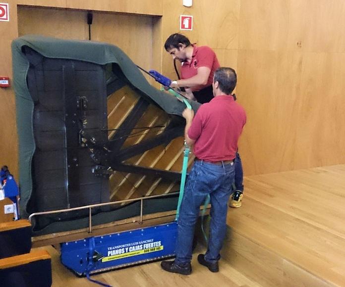 transporte de pianos Ourense