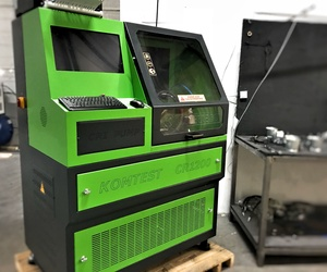 Maquina reparación inyectores taller Huracán motor Leganes