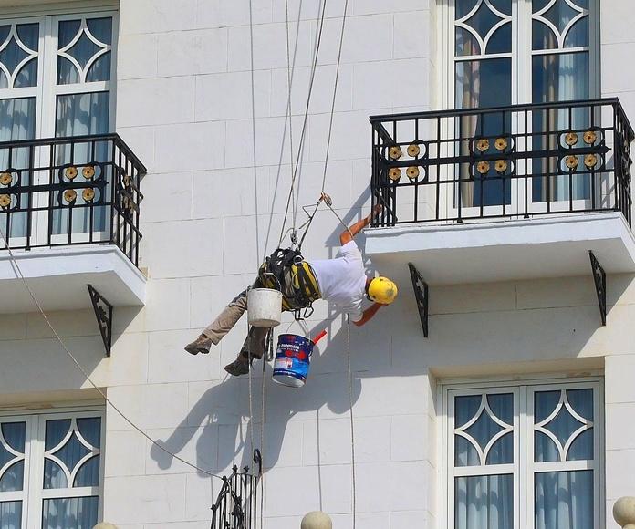 Empresa de rehabilitación de fachadas Torrelavega