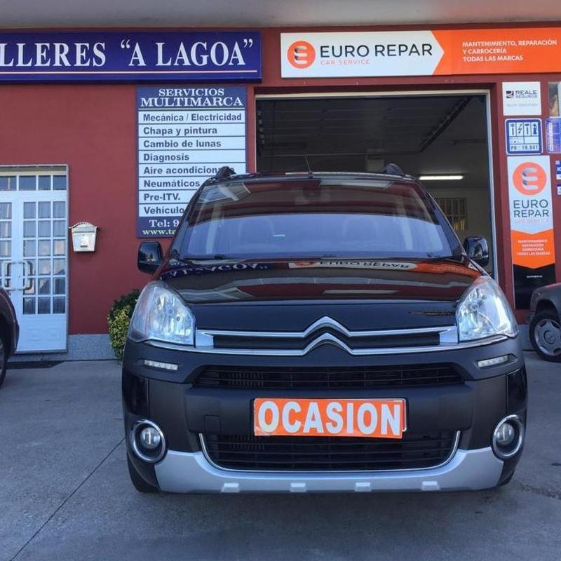 CITROEN BERLINGO XTR 1.6HDI 114CV:  de Ocasión A Lagoa
