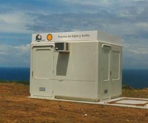 Cabina 2,40 x 3,20m para equipos de radar