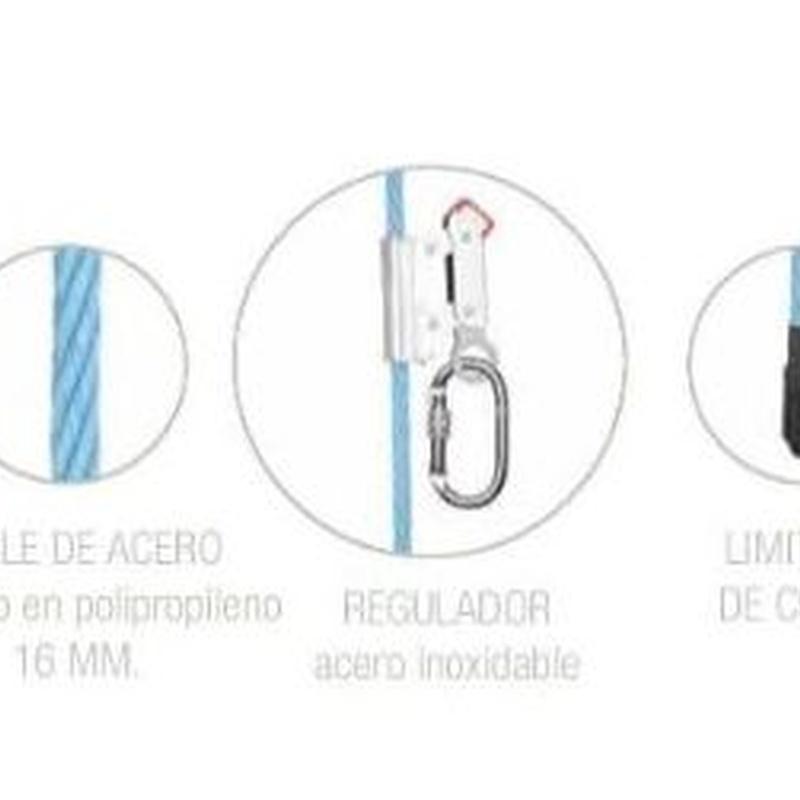EQUIPO PARA SUJECIÓN PROT 70 - 3 METROS   Código: AF1703: Productos y servicios de Maquiagri