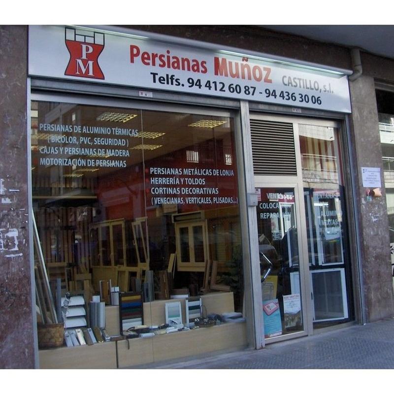 Productos: Productos y servicios de Persianas Muñoz Castillo, S. L.