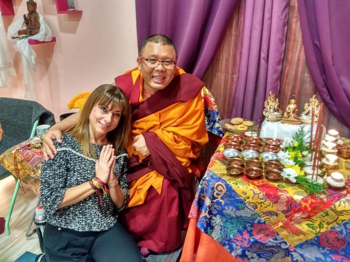 Lama Ahbay en Izel Yoga