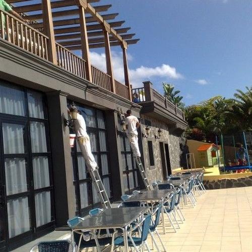 Rehabilitación de fachadas Tenerife | Rymdeco