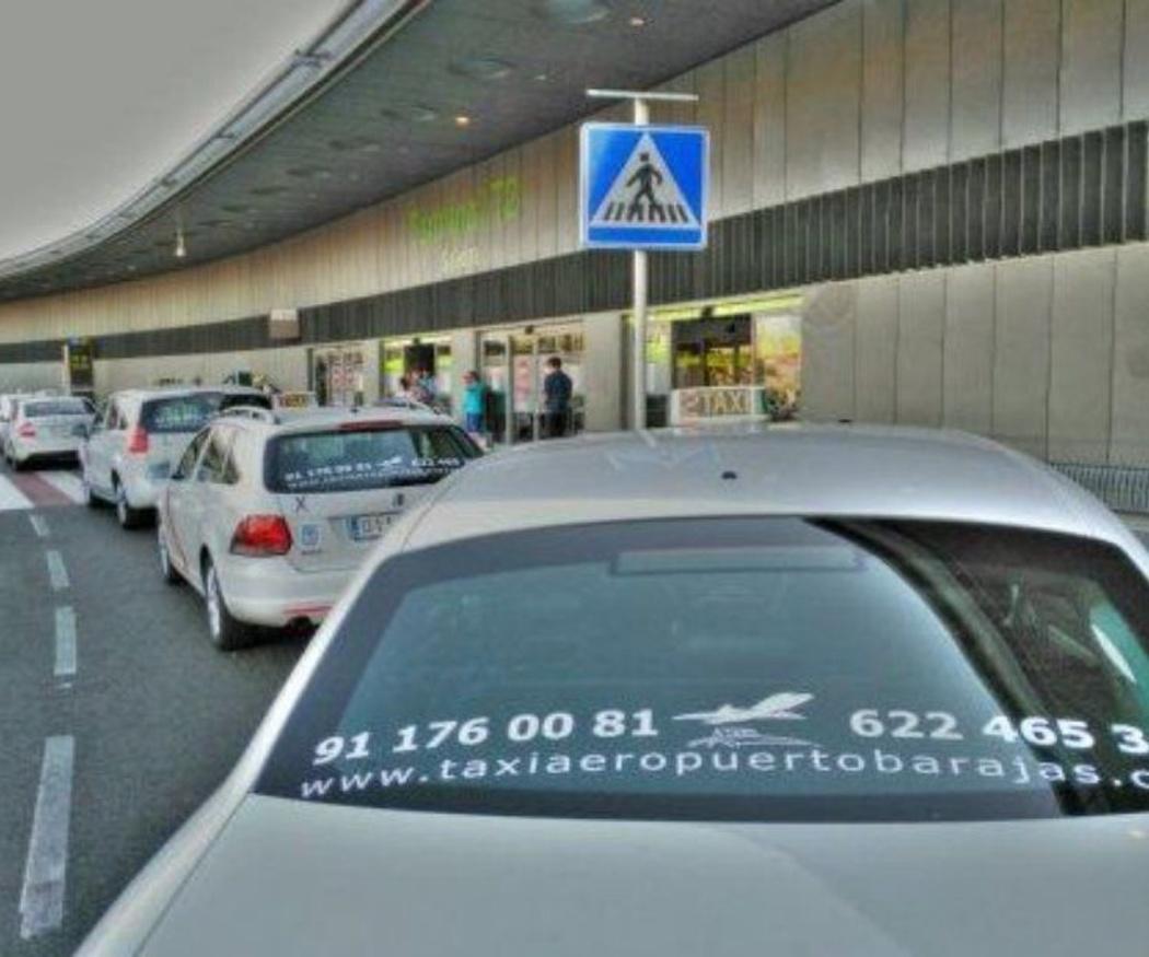 Las obras del metro harán que se cojan más taxis al aeropuerto