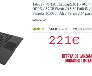 Talius - Portatil Laptop1301