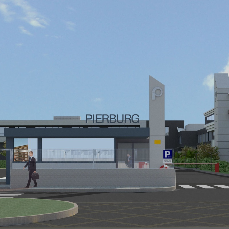 NUEVO EDIFICIO INDUSTRIAL Y DE OFICINAS. PIERBURG S.A. ABADIÑO 2016.: Servicios y proyectos de Maurtua Arquitectos
