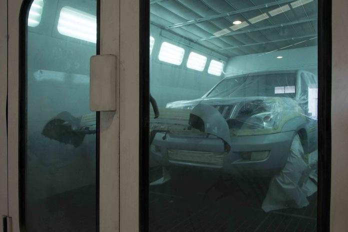 Reparación de plancha y pintura: Productos y Servicios de Talleres Autocapsa